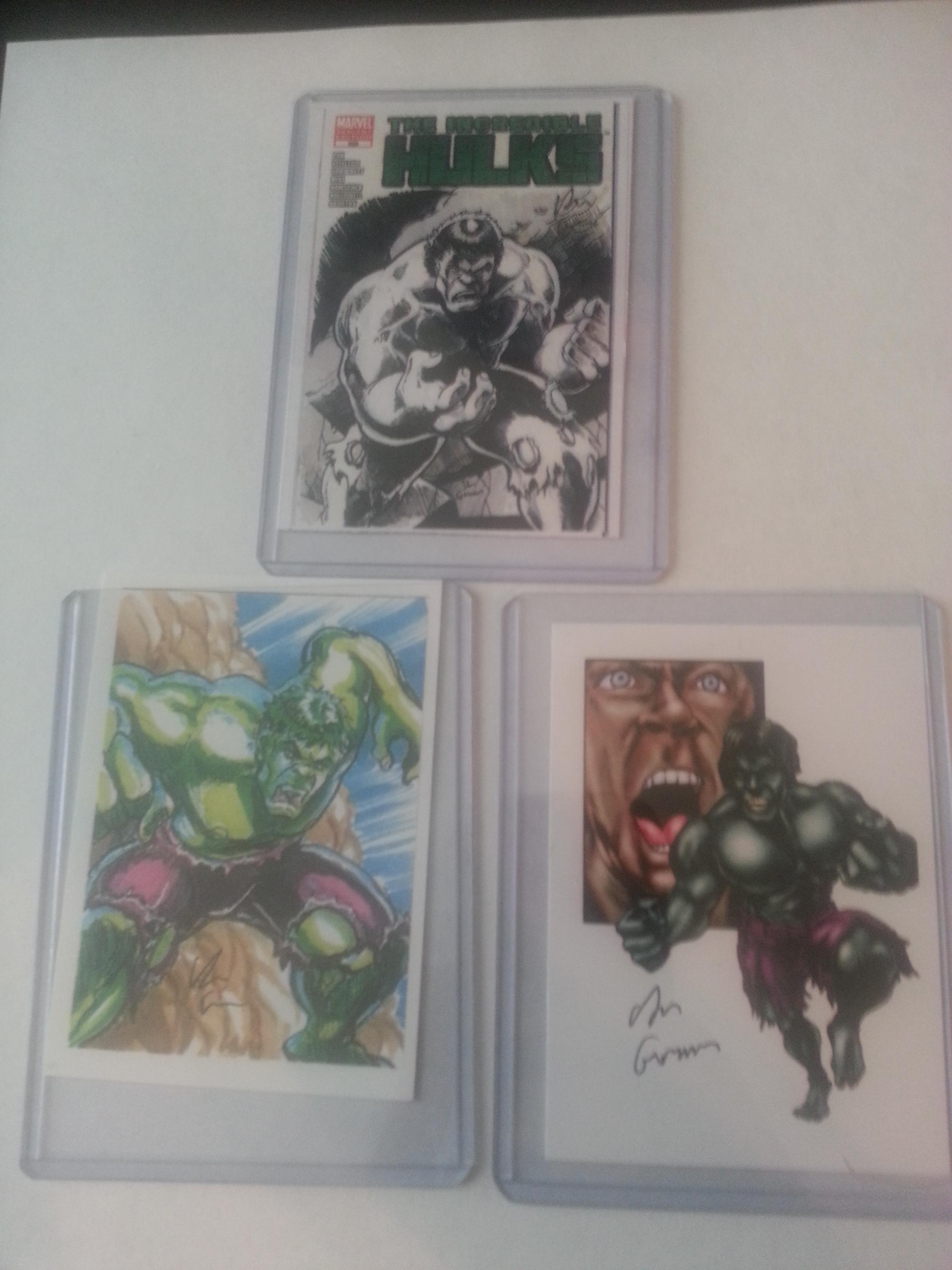 Dan Gorman's sketch cards